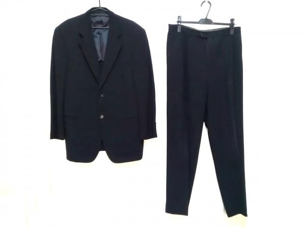 CERRUTI 1881(セルッティ1881) シングルスーツ サイズ48L メンズ 黒 ネーム刺繍