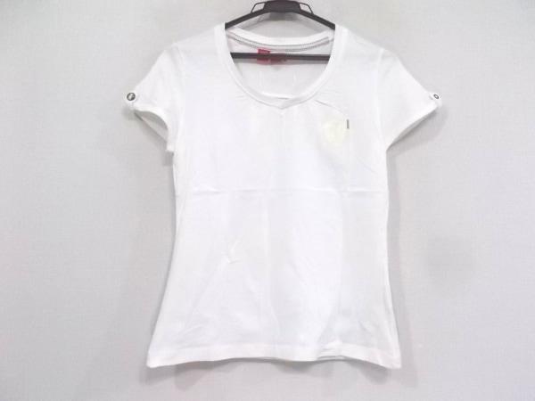 PUMA×FERRARI(プーマ×フェラーリ) 半袖Tシャツ サイズM レディース美品  白