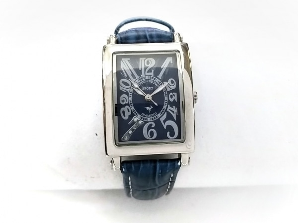 ミッシェルジョルダン 腕時計 SL-3000 レディース SPORT/型押し革ベルト