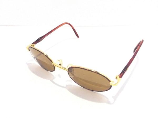 レイバン サングラス W2543 ダークブラウン×ゴールド プラスチック×金属素材