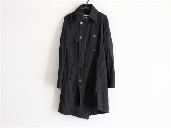 ENCHANTEMENT...?(アンシャントマン) コート サイズ40 M レディース 黒 冬物