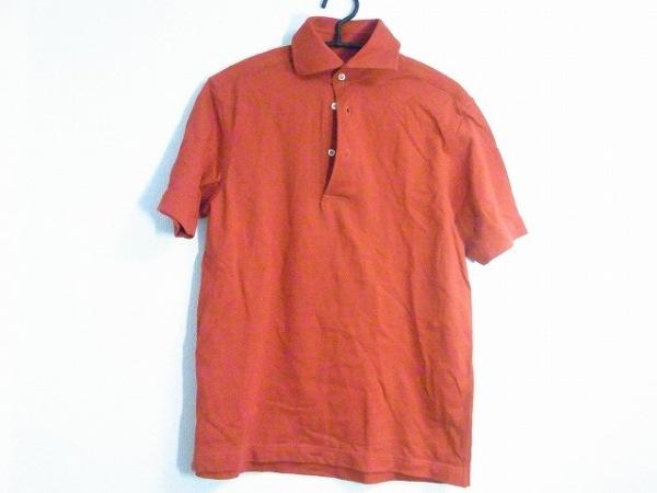 Guy Rover(ギローバー) 半袖ポロシャツ サイズM メンズ美品  レッド