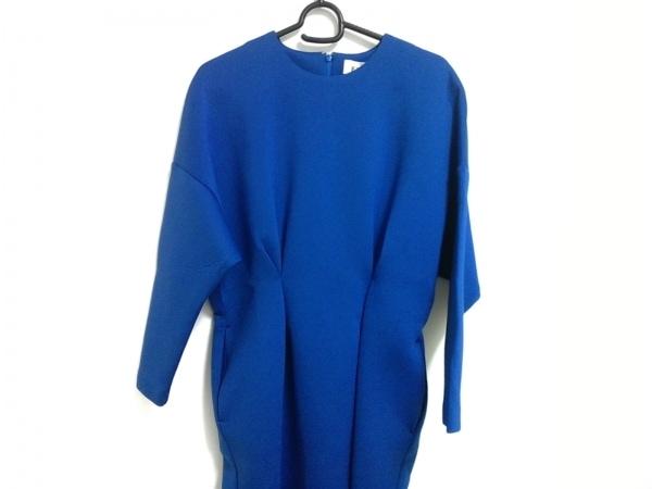ENFOLD(エンフォルド) ワンピース サイズ38 M レディース美品  ブルー