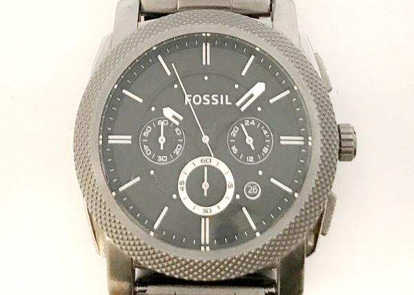 FOSSIL(フォッシル) 腕時計 FS-4662 メンズ クロノグラフ 黒