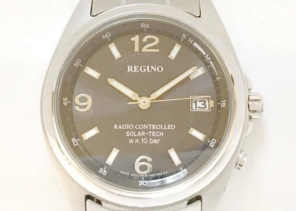 REGUNO(レグノ) 腕時計 GN-4-S-12G メンズ 黒