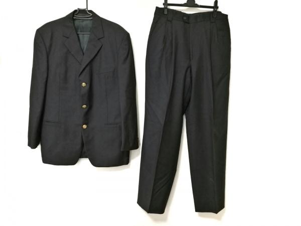 VERSACE(ヴェルサーチ) シングルスーツ メンズ ダークグレー V2 BY VERSACE