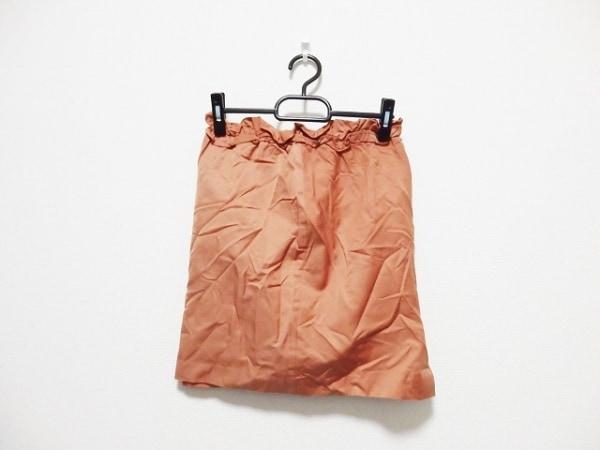 JUSGLITTY(ジャスグリッティー) スカート サイズ1 S レディース オレンジ
