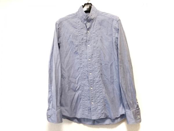 DESIGNWORKS(デザインワークス) 長袖シャツ サイズ46 XL メンズ ブルー