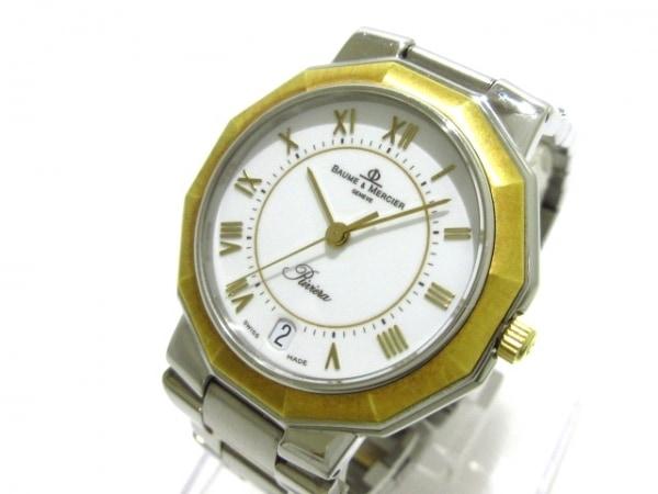 BAUME&MERCIER(ボーム&メルシエ) 腕時計 リヴィエラ 5130038 レディース 白