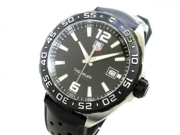 TAG Heuer(タグホイヤー) 腕時計 フォーミュラ1 WAZ1110 メンズ 黒