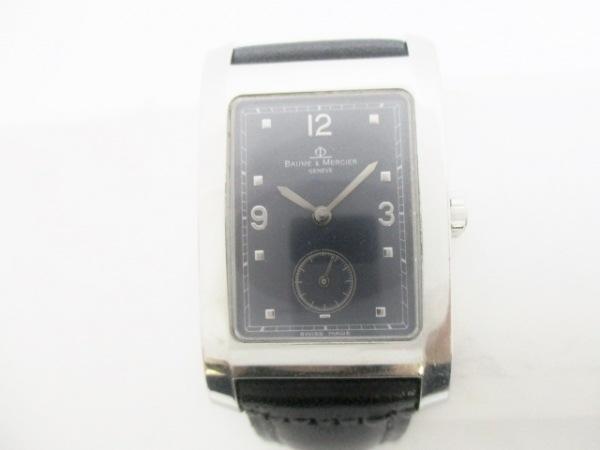 BAUME&MERCIER(ボーム&メルシエ) 腕時計 ハンプトン MV045063 メンズ 黒