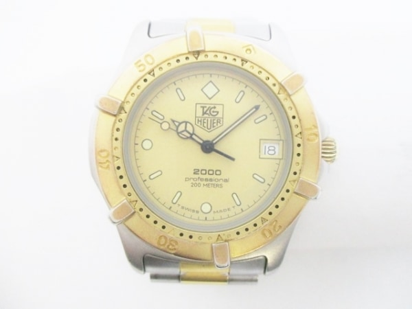 TAG Heuer(タグホイヤー) 腕時計 プロフェッショナル200 964.006 メンズ ゴールド