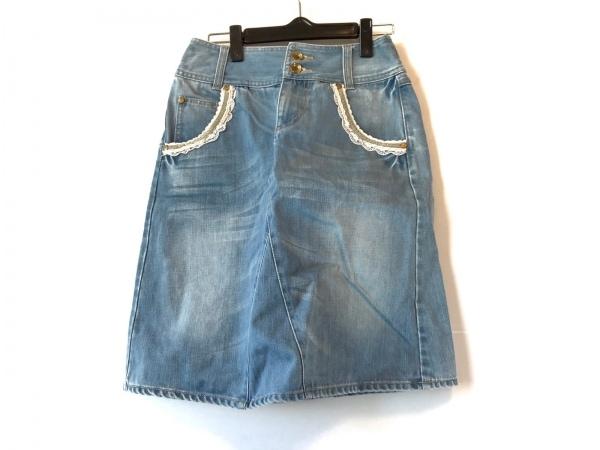 franchelippee(フランシュリッペ) スカート サイズS レディース美品  ブルー