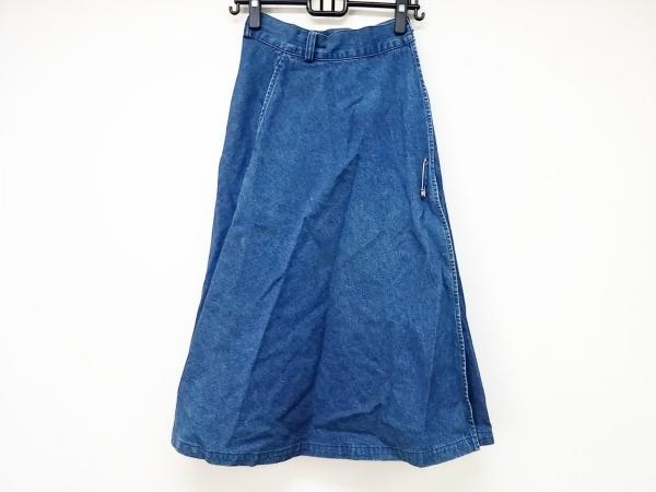 ラルフローレン カントリー 巻きスカート サイズ7 S レディース ネイビー デニム