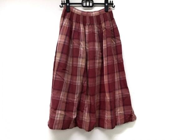 アルマーニジーンズ ロングスカート サイズ38(I) S レディース チェック柄