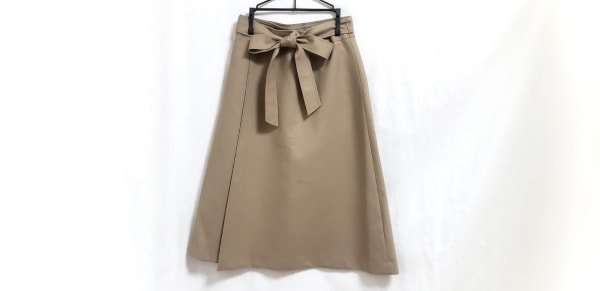 theory(セオリー) 巻きスカート サイズ0 XS レディース美品  ライトブラウン