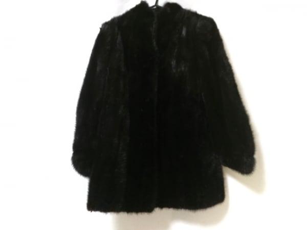 SAGA MINK(サガミンク) コート サイズ11 M レディース美品  ダークブラウン 冬物