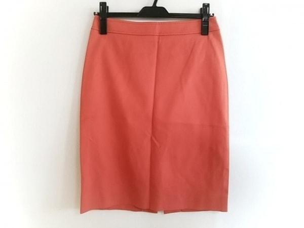 VALENTINO ROMA(バレンチノローマ) スカート サイズ40 M レディース美品  オレンジ