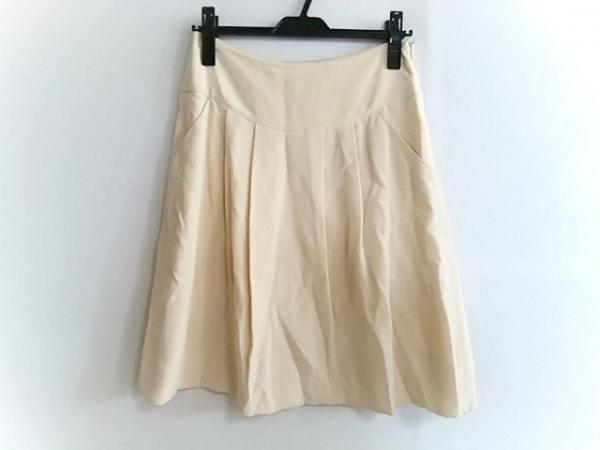 マウリツィオペコラーロ スカート サイズ6 M レディース美品  アイボリー