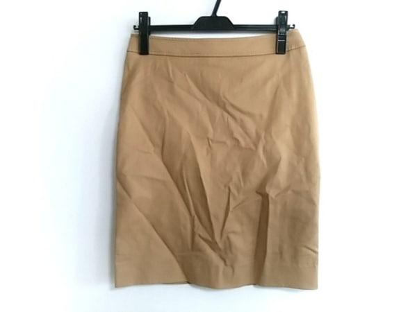 バレンチノローマ スカート サイズ40 M レディース美品  ライトブラウン
