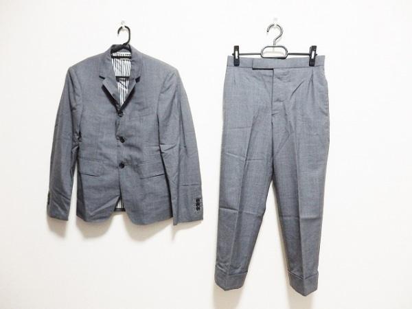 THOM BROWNE(トムブラウン) シングルスーツ サイズ00 XS メンズ ライトグレー