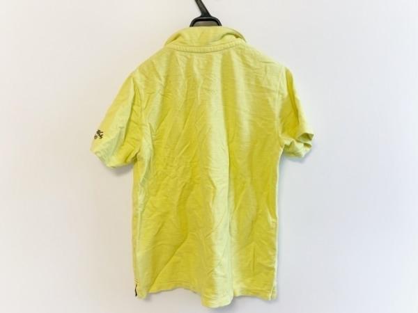 カンタベリーオブニュージーランド 半袖ポロシャツ サイズL レディース イエロー