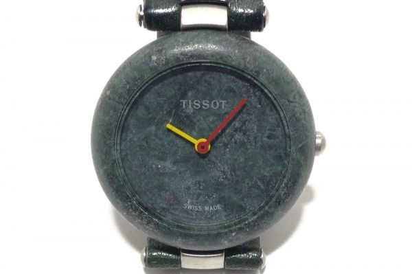 TISSOT(ティソ) 腕時計 R150 レディース 革ベルト ダークグリーン