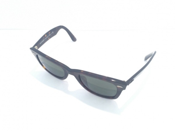 Ray-Ban(レイバン) サングラス WAYFARER RB2140-F 黒×ライトブラウン プラスチック