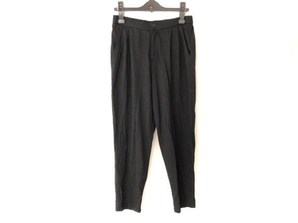 YOSHIE INABA(ヨシエイナバ) パンツ サイズ38 M レディース 黒 ウエストゴム