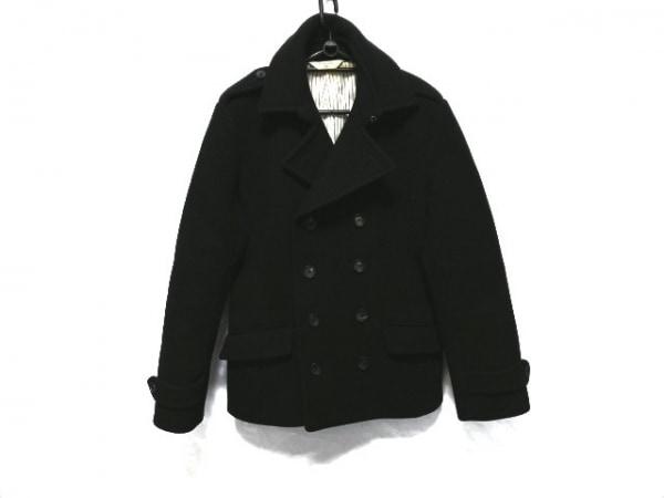 EDIFICE(エディフィス) Pコート サイズ40 M メンズ 黒