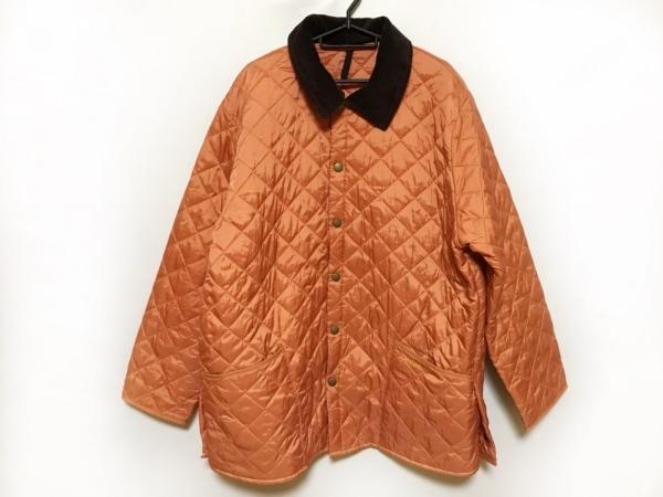 Barbour(バーブァー) コート メンズ オレンジ キルティング/冬物
