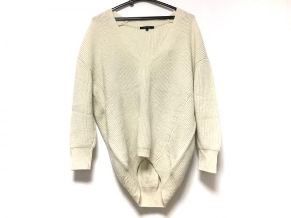 MACPHEE(マカフィ) 長袖セーター サイズ1 S レディース アイボリー
