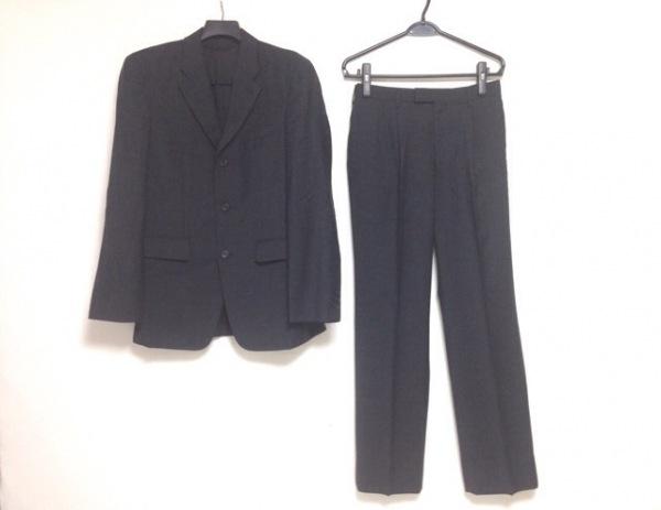 NICOLE(ニコル) シングルスーツ サイズ50 メンズ美品  ダークグレー 肩パッド