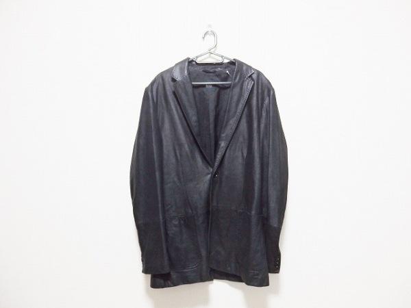 HUGOBOSS(ヒューゴボス) コート サイズ40 M メンズ 黒 レザー/春・秋物