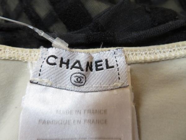 CHANEL(シャネル) ワンピース サイズ38 M レディース 黒×ダークグレー