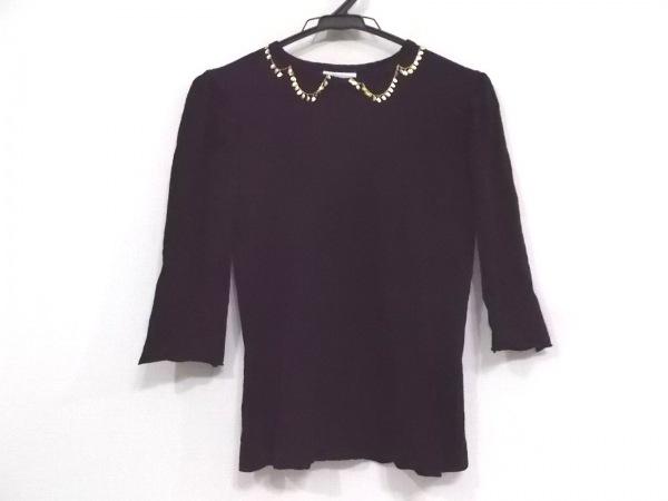 kolor(カラー) 長袖カットソー サイズ1 S レディース美品  黒