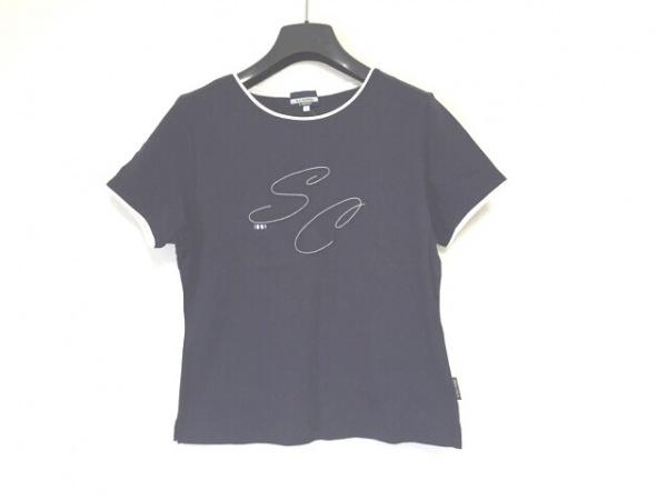 SINACOVA(シナコバ) 半袖Tシャツ サイズ11 M レディース ネイビー×白