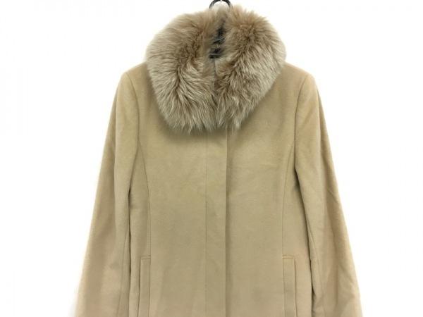 J&R(ジェイアンドアール) コート サイズS レディース美品  アイボリー 冬物