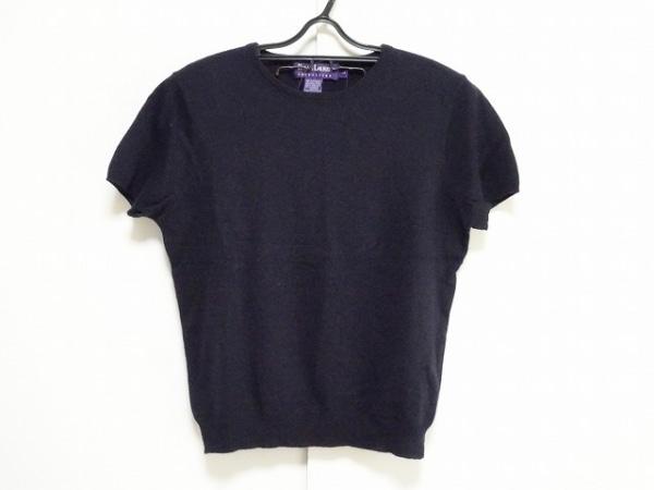 ラルフローレンコレクション パープルレーベル 半袖セーター サイズL  L レディース
