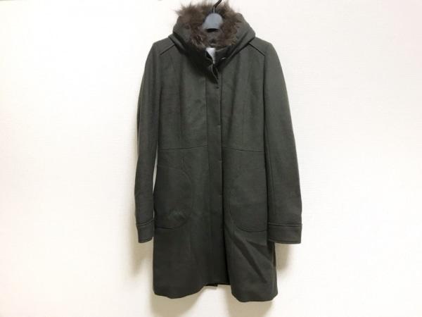 BEATRICE(ベアトリス) コート サイズ38 M レディース美品  カーキ 冬物/ファー