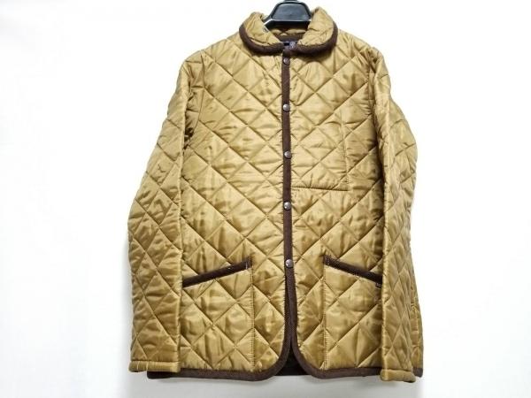 LAVENHAM(ラベンハム) コート サイズ40 M レディース美品  ベージュ×ダークブラウン