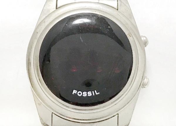 FOSSIL(フォッシル) 腕時計 ROAD TRIP JR-7750 ボーイズ レッド