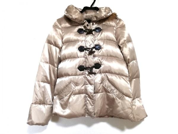 フェアリーシェード ダウンジャケット サイズ3 L レディース美品  ベージュ