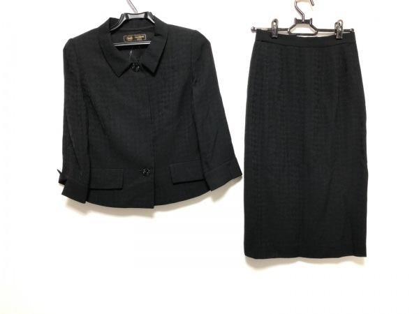 TOKYOIGIN(トウキョウイギン) スカートスーツ サイズ7 S レディース美品  黒 肩パッド