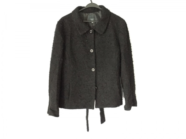 KEITH(キース) コート サイズ48 XL レディース美品  黒 冬物