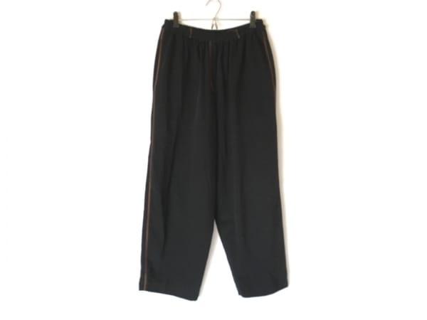 伊太利屋/GKITALIYA(イタリヤ) パンツ サイズ7 S レディース 黒×オレンジ