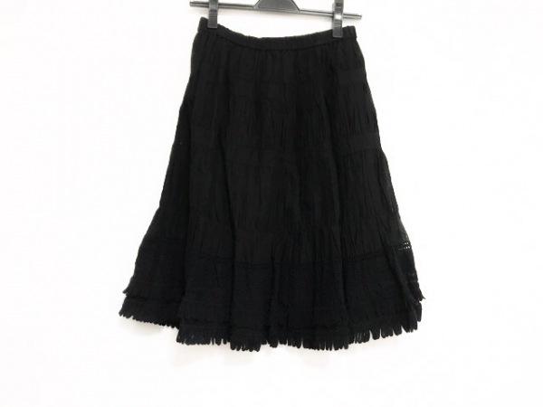 TO BE CHIC(トゥービーシック) スカート サイズ40 M レディース美品  黒