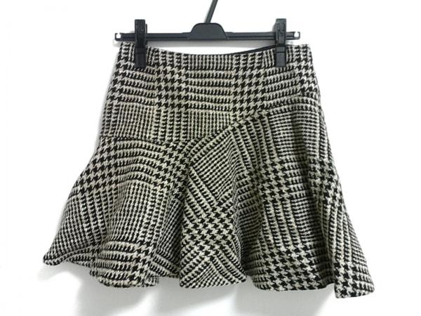 Plage(プラージュ) スカート サイズ38 M レディース美品  黒×ベージュ