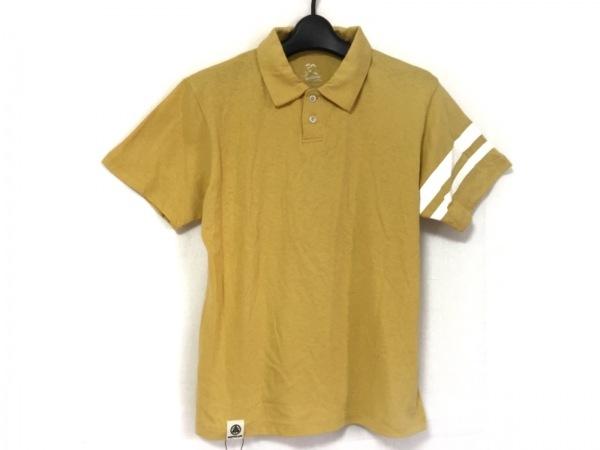 MOMOTARO JEANS(モモタロウジーンズ) 半袖ポロシャツ サイズS メンズ美品  イエロー