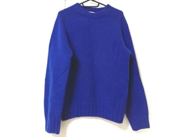 Inverallan(インバーアラン) 長袖セーター サイズ36 S メンズ ブルー